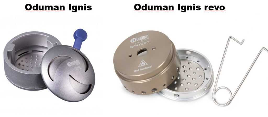 Image of Oduman Ignis HMD and Oduman Ignis revo hookah HMD heat management device Oduman Ignis
