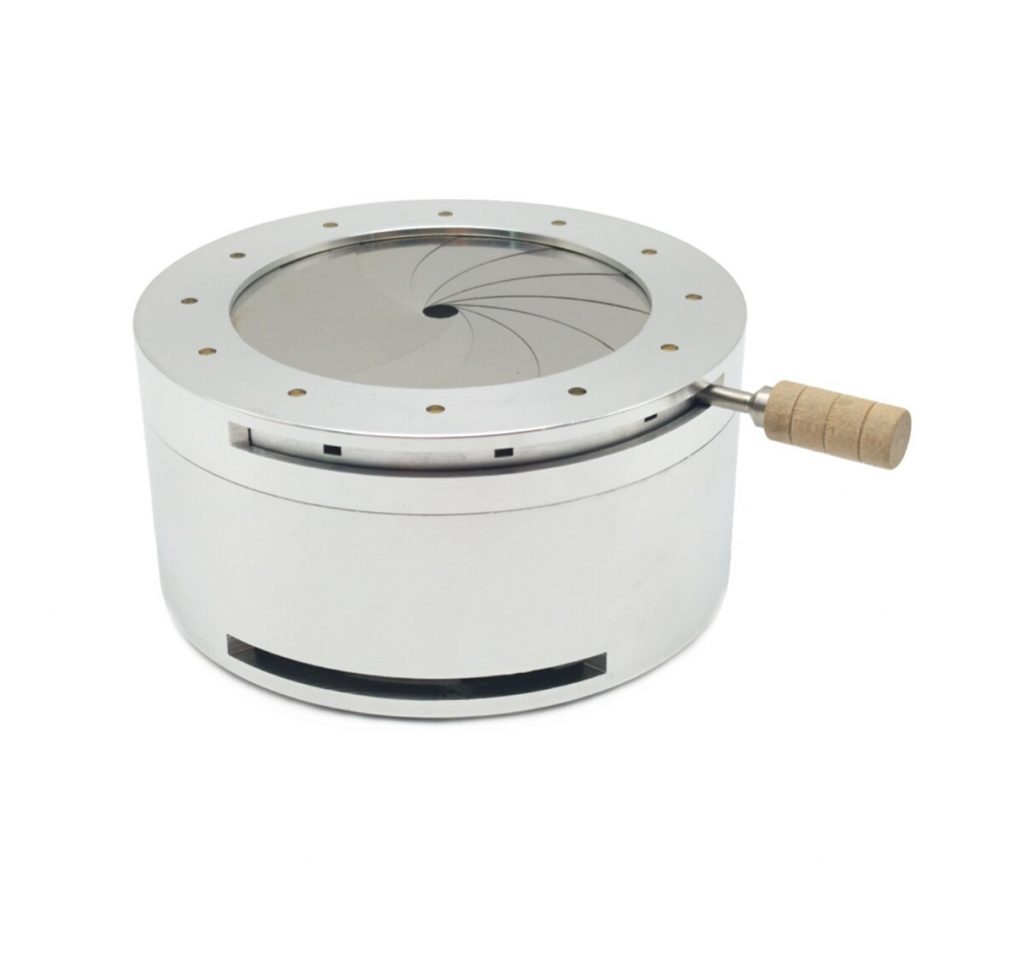LOMINT aluminium Hookah heat Keeper. Heat Management Device, Metal Charcoal Holder for Shisha Chicha Narguile